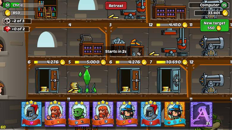 Arcanox Cards vs Castles