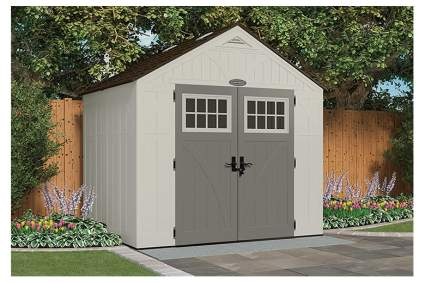 large resin storage shed