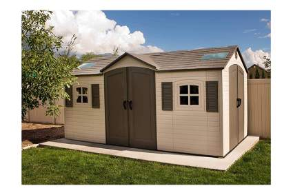 extra large outdoor storage shed