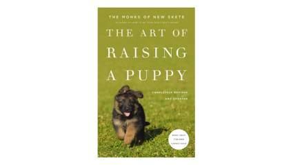 the art of raising a puppy dog training book