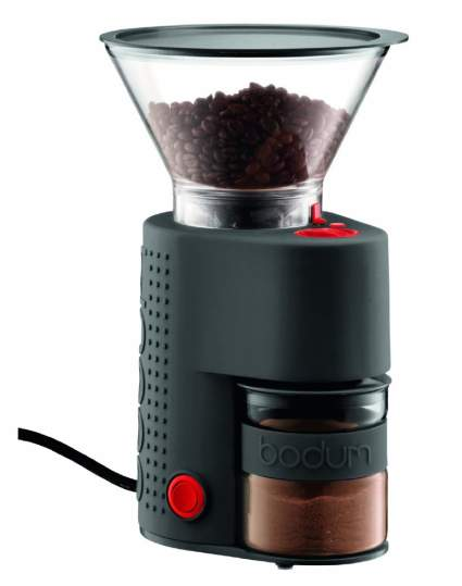 Bodum Bistro Electric Burr Coffee Grinder, bodum, bodum coffee grinder, burr coffee grinder, coffee grinder