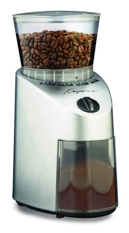 Capresso 560 Infinity Conical Burr Grinder, burr coffee grinder, coffee grinder