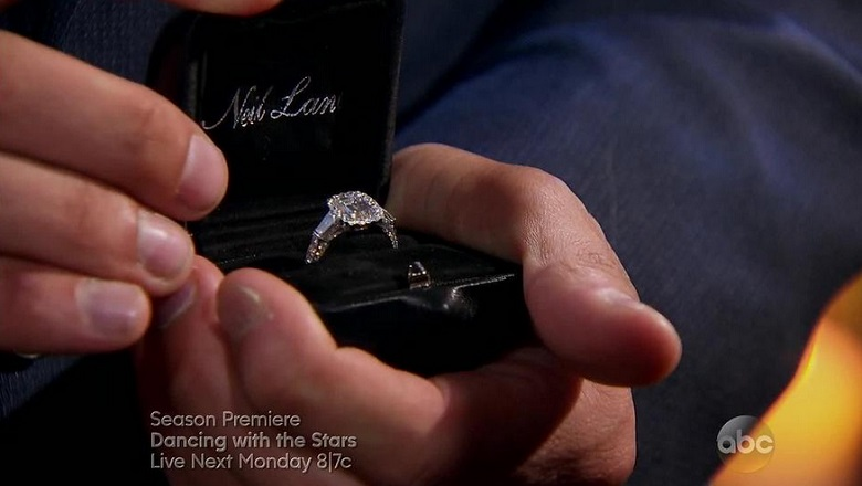 The Bachelor Finale 2015, The Bachelor Engagement Ring, Neil Lane, Neil Lane The Bachelor, The Bachelor Diamond Engagement Ring
