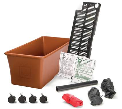 EarthBox Garden Kit, hassle free low water urban gardening container gardens, best city dweller gardening solutions for sale
