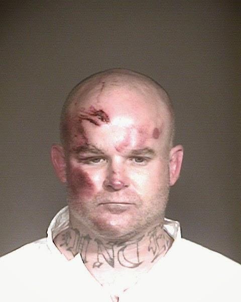 Ryan Giroux mugshot taken after his arrest in Mesa, Arizona on charges he shot 6 people, killing one. (Mesa Police)