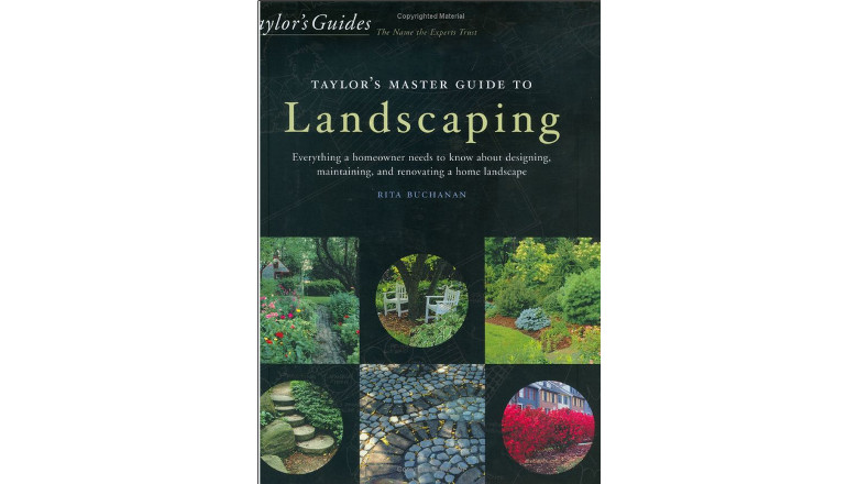 Taylor's Master Guide to Landscaping, rita buchanan, best landscaping design books for sale