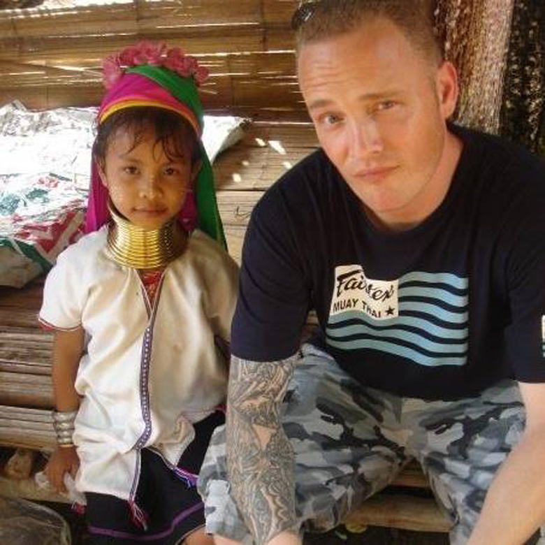 Daugherty pictured in Thailand in 2009. (Facebook)