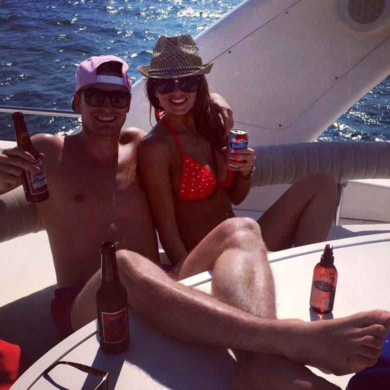 Stacey Flounders Adam Johnson Hot Bikini