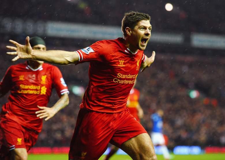 Steven Gerrard, Liverpool vs Everton, Steven Gerrard goal