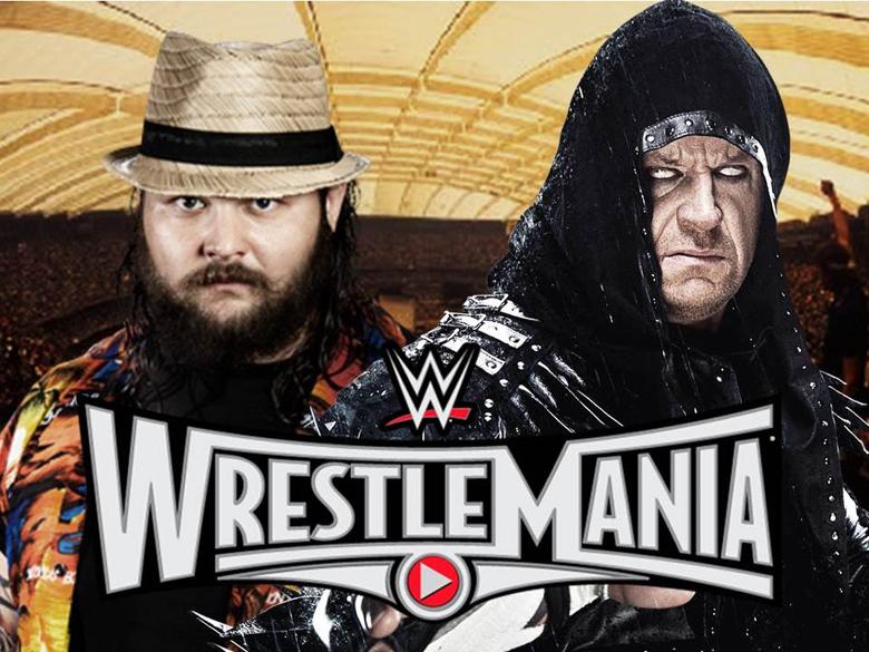 The Undertaker vs Bray Wyatt