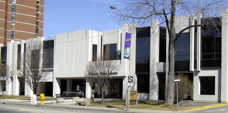 A branch of the Windsor Public Library. (Wikipedia)
