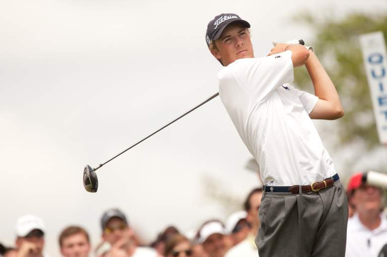Jordan Spieth played in the 2010 Byron Nelson Championship at the age of 16. (Getty)