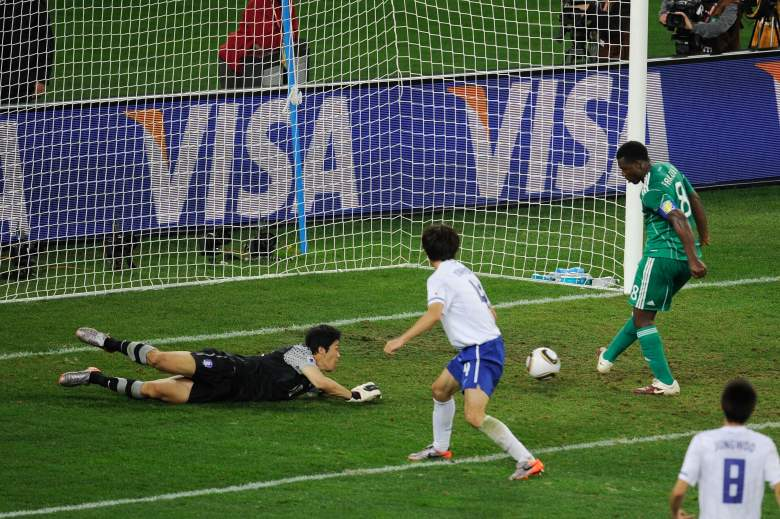 Yakubu had a miss to remember at the 2010 World Cup. (Getty)