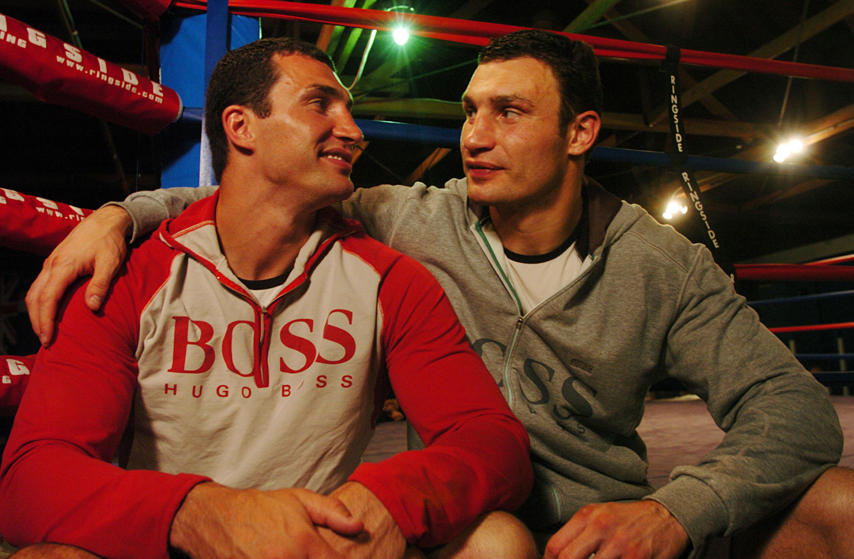 Wladimir Klitschko and Vitali Klitschko (Getty)