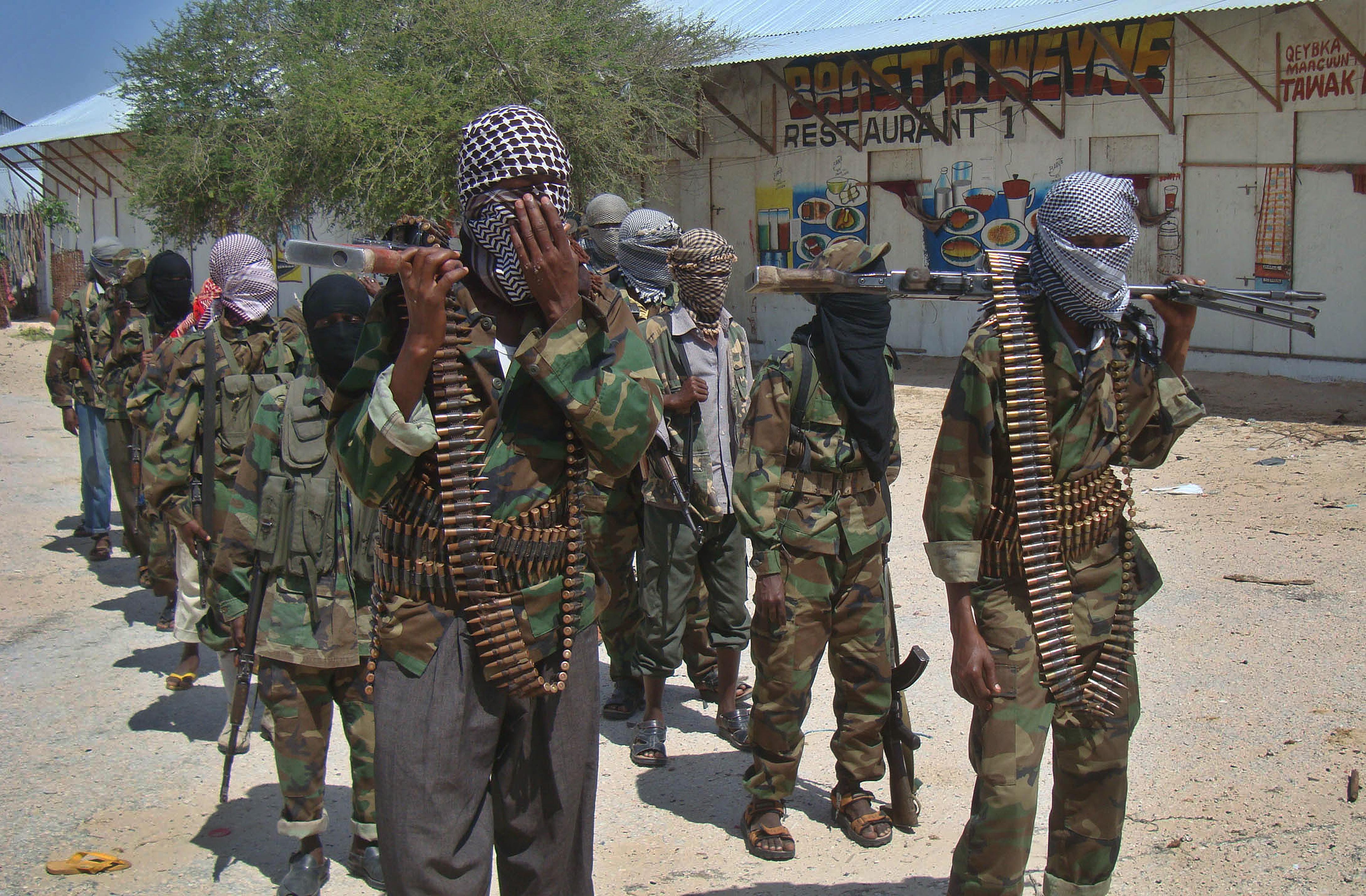 Al-Shabaab recruits (Getty)