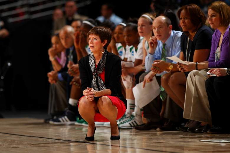 Muffet McGraw is in her 27th season as Notre Dame women's basketball head coach. (Getty)