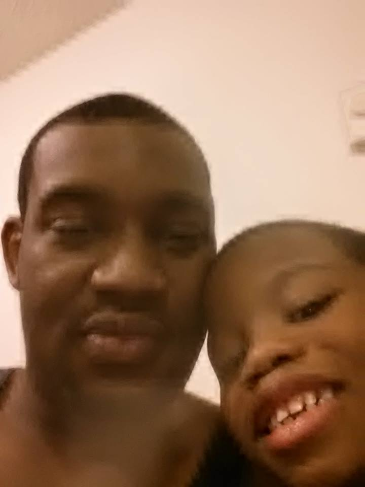 Todd with son Zycheim, 7. (Facebook)