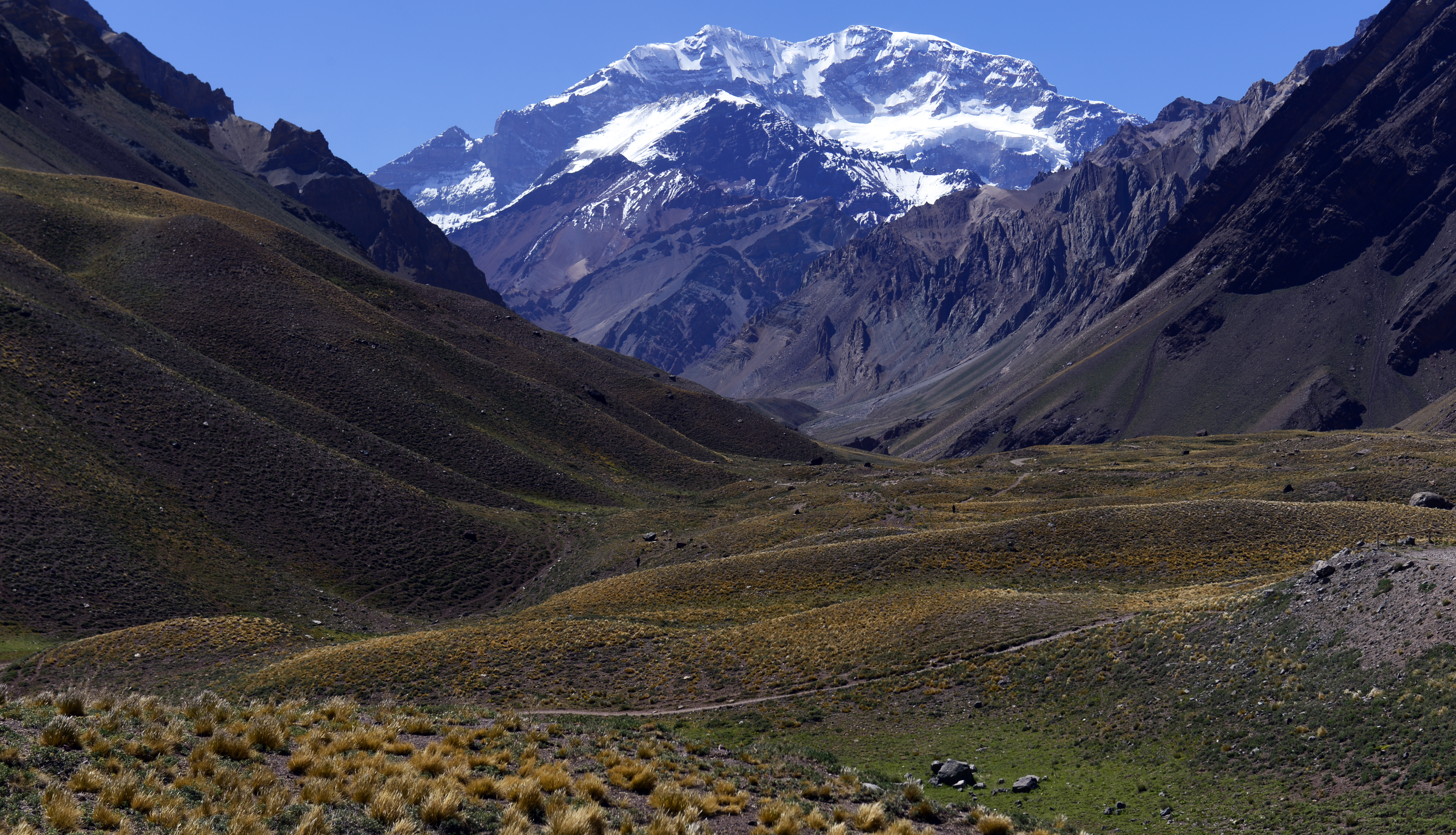 Tom Taplin wrote a book about his trip to the Aconcagua, the highest mountain in South America. (Getty)