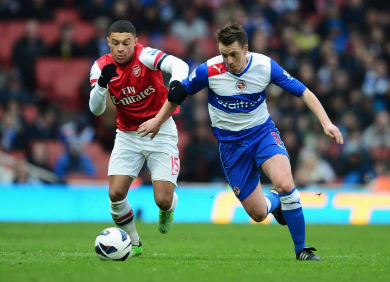 Arsenal and Reading will tangle in the FA Cup semifinals on Saturday. (Getty)