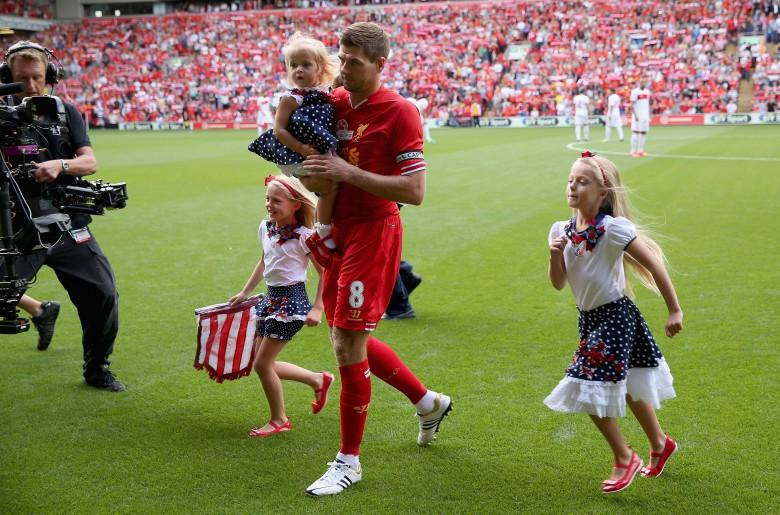Steven Gerrard family, steven gerrard daughters, gerrard family
