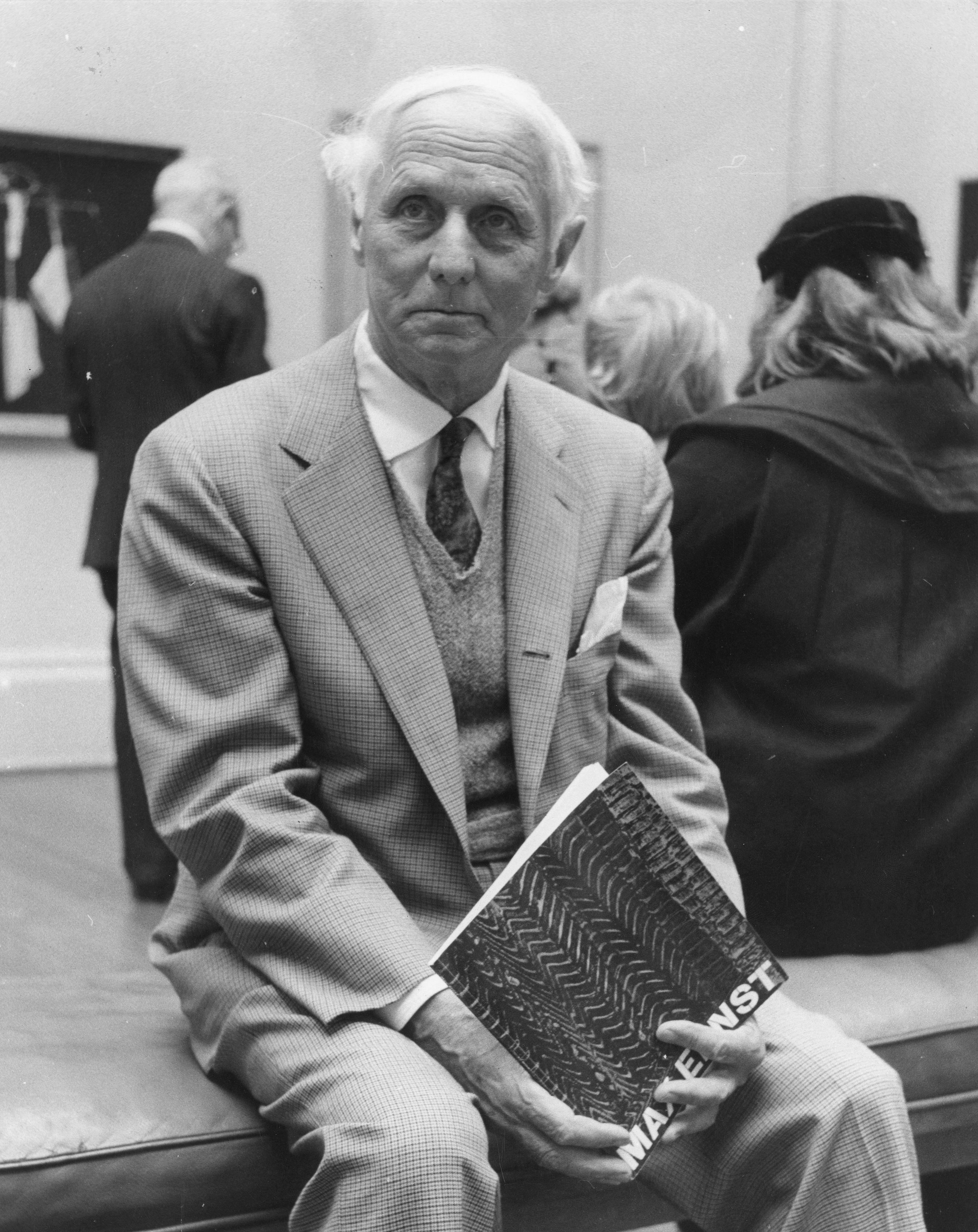 circa 1961:  German born French artist Max Ernst (1891 - 1976). (Getty)