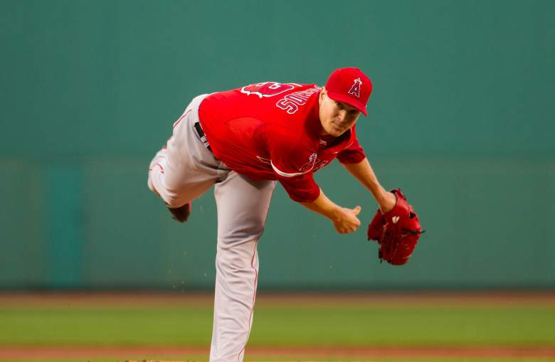 The Angels' Garrett Richards is will make his first start since last August on Sunday. (Getty)