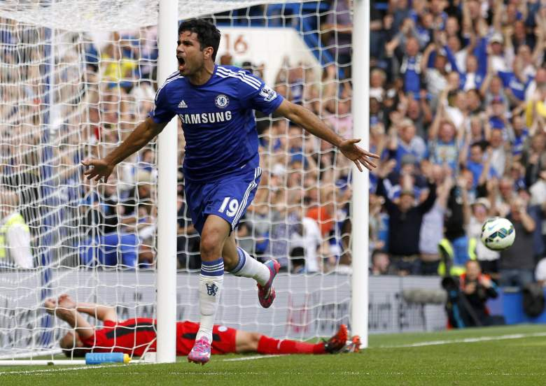 diego costa chelsea leicester