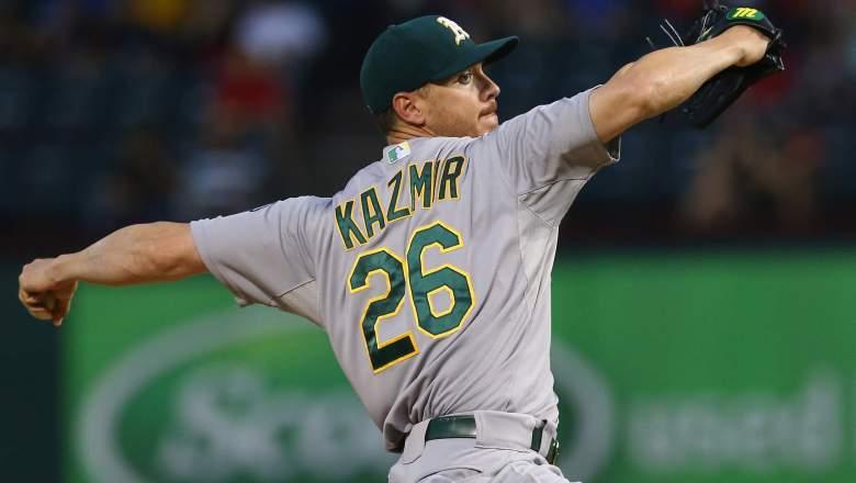 Scott Kazmir, Oakland, Athletics