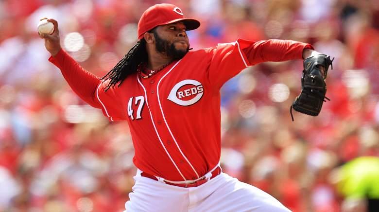 Johnny Cueto, Cincinnati, Reds