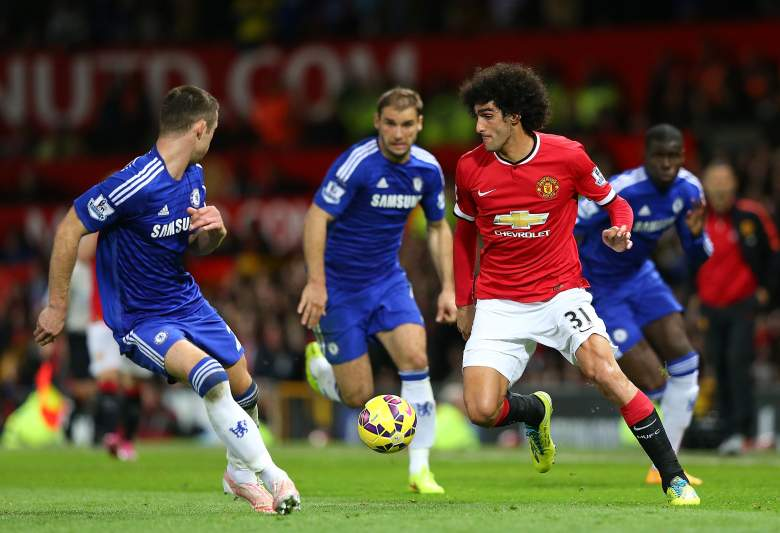 Marouane Fellaini is comin off an excellent performance for Manchester United last week. (Getty)