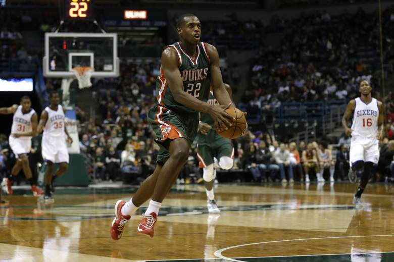 Khris Middleton has been a reliable scorer for Milwaukee toward the end of the season. (Getty)