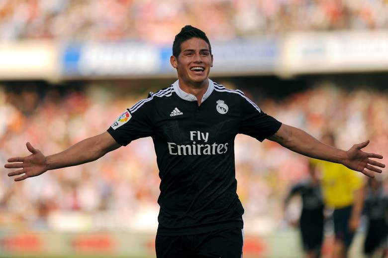 james rodriguez, real madrid,  la liga