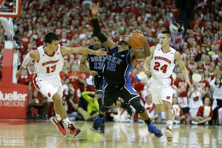Duke beat Wisconsin 80-70 back in December. Monday night is for the NCAA title. (Getty)