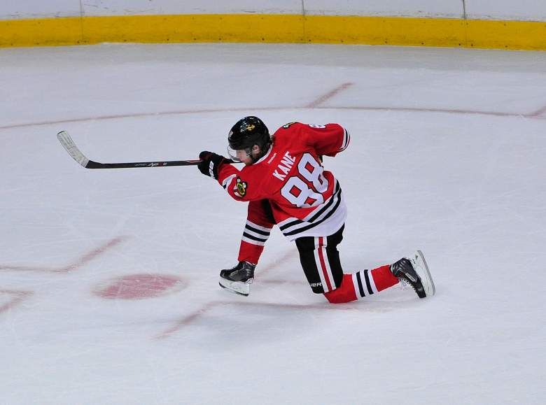 Patrick Kane leads the NHL in just about every stat and now he takes his talents to the All-Star Game. (Getty)