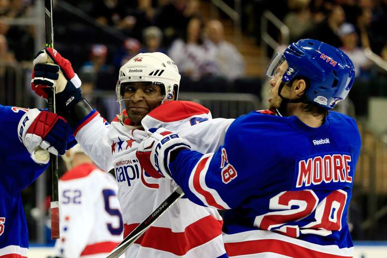 washington capitals, new york rangers