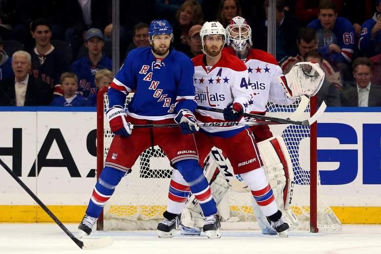 new york rangers, washington capitals