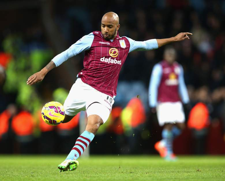 Fabian Delph has been in fine form for Aston Villa this season. (Getty)