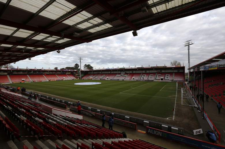 Bournemouth's Dean Court holds 12,000. (Getty)