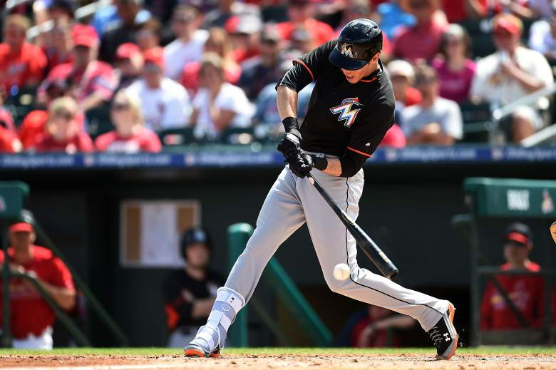 Marlins outfielder Christian Yelich is one of the better bargains for your DraftKings lineup Tuesday. (Getty)