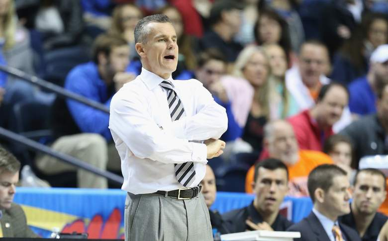 Billy Donovan has been the Florida head coach since 1996. Getty)