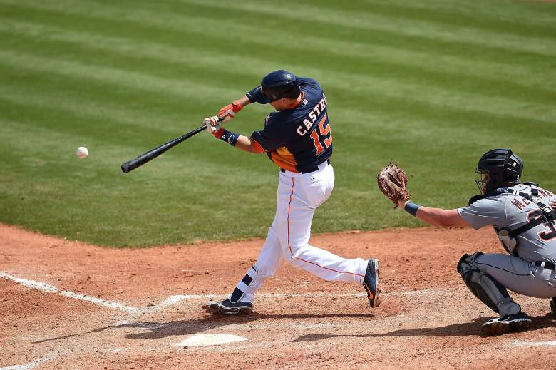 Astros catcher Jason Castro. (Getty)
