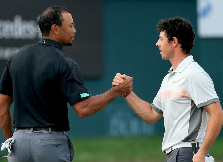 sorpresa Rango Contribución  WATCH: Tiger Woods & Rory McIlroy in New Nike Commercial | Heavy.com