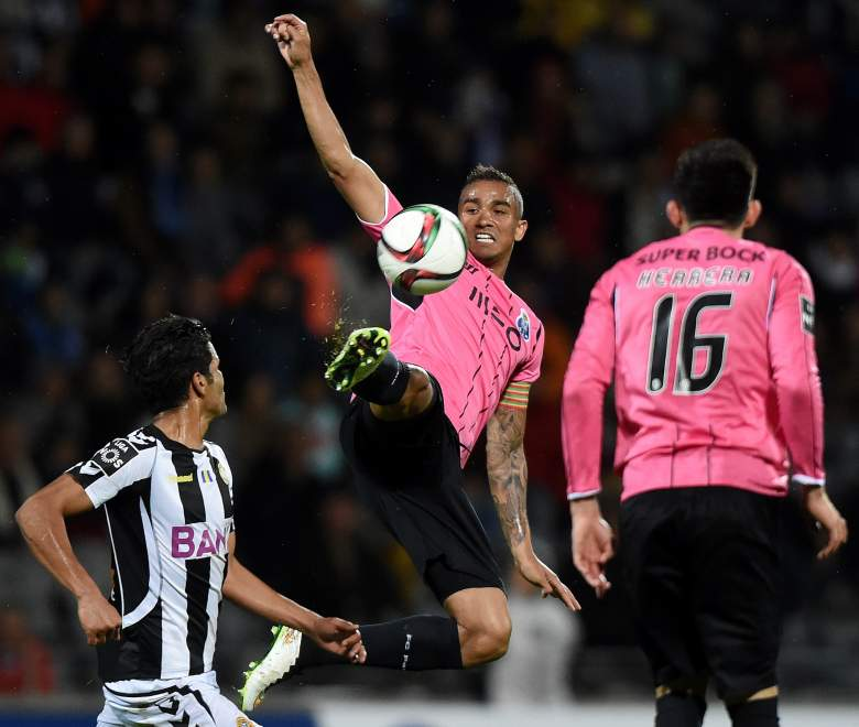 New Real Madrid defender Danilo clears the ball during a game for Porto in March.