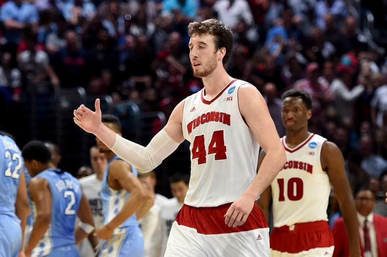 College basketball player of the year Frank Kaminsky. (Getty)