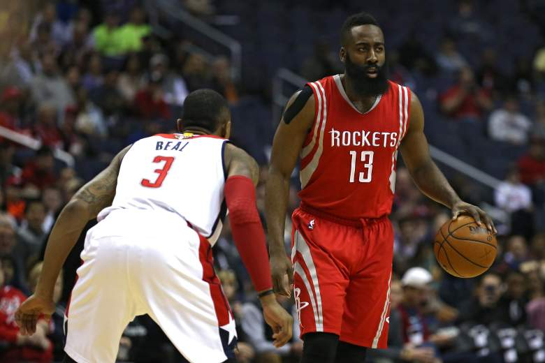 James Harden has played at an MVP level this season for the Houston Rockets. (Getty)