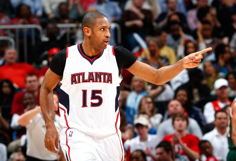 Al Horford and the Hawks claimed the East's top seed in the NBA Playoffs. (Getty)