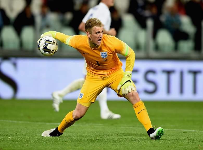 Manchester City goalie Joe Hart. (Getty)