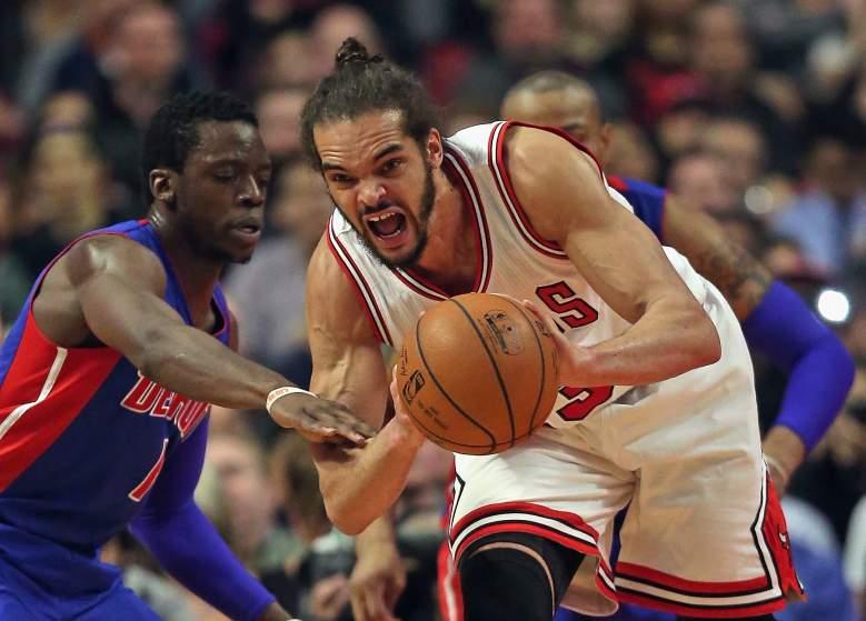 The Bulls' Joakim Noah. (Getty)