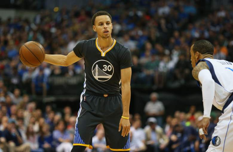 Stephen Curry and the Golden State Warriors are the West's No. 1 seed. (Getty)