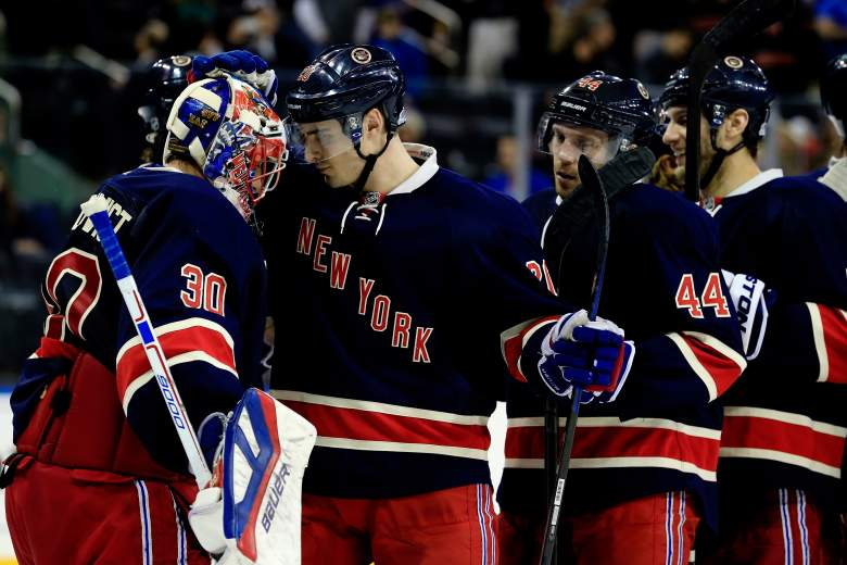 Henrik Lundqvist and the Rangers are the favorites to win the Stanley Cup (Getty)
